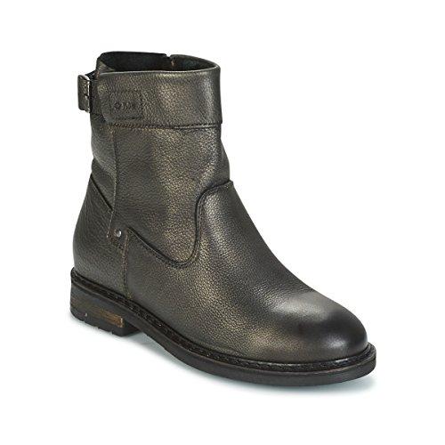 PLDM BY PALLADIUM BOTRY DST Enkellaarzen/Low boots dames Zwart/Goud Laarzen