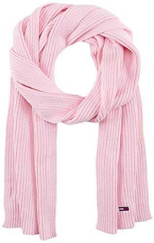 Tommy Jeans Damen Tjw Basic Flag Rib Scarf Winter-Zubehör-Set, Rosa, OS