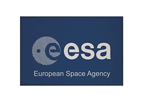 U24 Aufnäher ESA Fahne Flagge Aufbügler Patch 9 x 6 cm