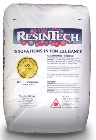 ResinTech High Capacity Water Softener Resin (1 Cu. Ft.)