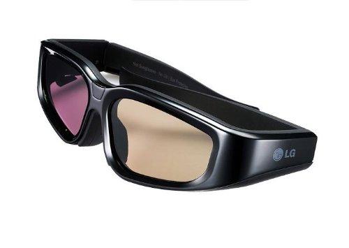 LG AG-S100 3D LG Shutterbrille für LX Serien (max. 40 Std. Akku Laufzeit)
