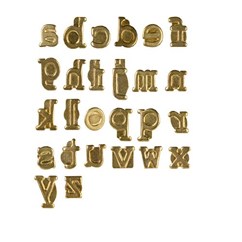 Walnut Hollow Hotstamps Alphabet Lowercase