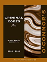 O'Connor's Criminal Codes Plus 2008-2009