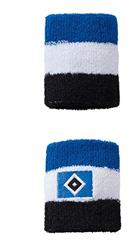 "Hamburger SV Schweißband \""b-w-s\"" 2er-Set"