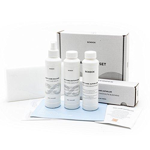 Aufheller Balsam Reiniger Granitspülen Easy Care Pflegemittel Reinigungsmittel Set - NUR für helle Spülen