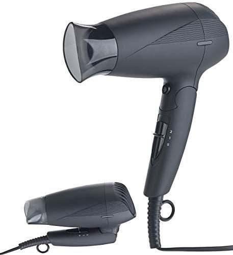 Sichler Beauty Föhn: Klappbarer Reise-Haartrockner mit Ionen-Technologie, 1.600 Watt (Reiseföhn)