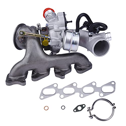 Replacement Turbo Charger with Gasket Kit- Compatible with Buick and Chevrolet Vehicles - 2011-2019 - Encore, Cruze, Cruze Limited, Sonic, Trax - 1.4L L4, 1.4T Engines - Replaces 55565353, 667-203