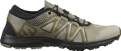 Salomon Men's Crossamphibian Swift 2 Sneaker, Vetiver/Olive Night/Black, 9