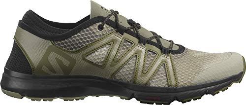 Salomon Men's Trail Running Shoe, Vetiver/Olive Night/Black, 11