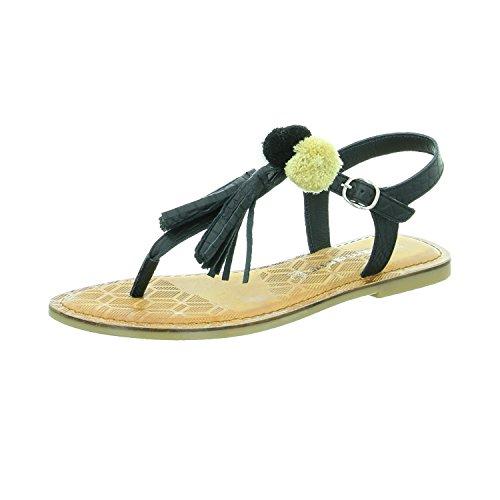 Tamaris 2816238098 - Sandalias de Vestir de Piel Lisa para Mujer, Color...