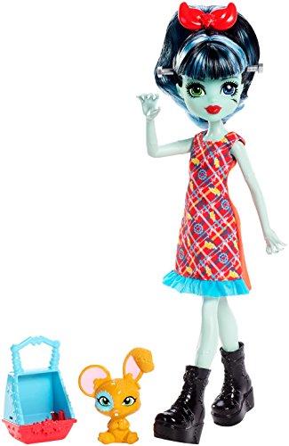 Monster High Monster Family Alivia Stein & Gigawatt Doll + Pet