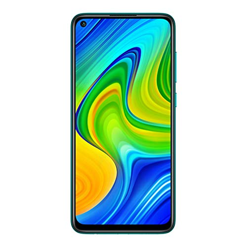 Redmi Note 9 (Aqua Green, 4GB RAM, 64GB Storage) - 48MP Quad Camera & Full HD+ Display - 3 Months No Cost EMI on BFL