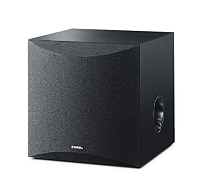 Yamaha NSSW050 Powered Subwoofer with 8 Driver - Black (Renewed) by YAMA6