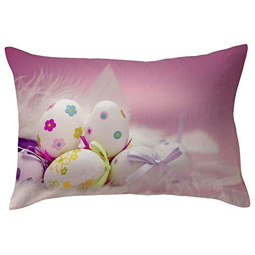 Funda de almohada rectangular para sofá, silla, sofá, dormitorio, 45 cm x 45 cm