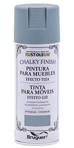 Rust-Oleum Spray Chalky Finish Antracita 400 ML BRUGUER, Negro