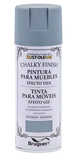 Spray Efecto Tiza Chalk Paint Rust-Oleum Xylazel - 814 Antracita