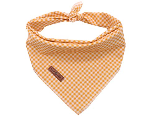 Lionet Paws Dog Bandana for Small Medium Large Dogs, Cat Dog Kerchief Dog Triangle Bibs Scarf for...
