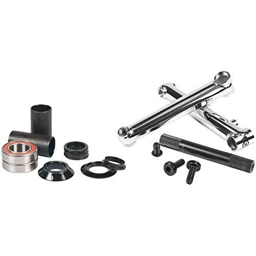 Salt Plus Pro 48 3-Piece BMX Crank (175cm - Chrome)