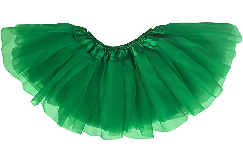 Dancina Mardi Gras Parade Infant Tutu for 6-24 Months Green