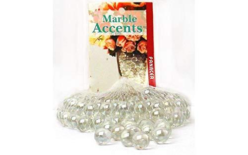 Panacea Decorative Glass Marbles Lustre Clr 100pc
