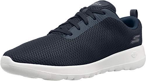 Skechers Damskie buty sportowe Go Walk Max-privy-15601, niebieski - niebieski granatowy biały - 35 EU