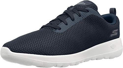 Skechers Go Walk Joy-Paradise, Baskets Femme, Bleu (Navy/White), 35 EU
