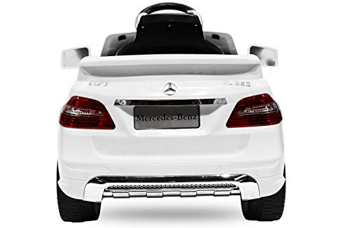 RC Auto kaufen Kinderauto Bild 6: Toyas Lizenz Kinderfahrzeug Mercedes Benz Jeep SUV ML350 Kinderauto Elektroauto 2X 25W Motor Fernbedienung MP3 Anschluss in Schwarz*