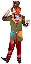 Atosa-63540 Atosa-63540-Disfraz Sombrerero Loco-Adulto XXL- Hombre, Multicolor, (63540) , color/modelo surtido
