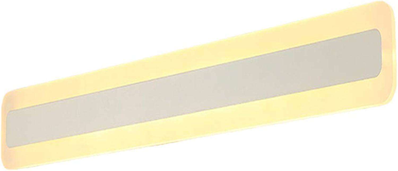 XMYX LED Spiegelleuchte, Spiegelschrank Lampe Leuchte Schminklicht Wandleuchte Badlampe Modern Spiegellampe Badleuchte Wasserdicht und Anti-Fog,WarmWeiß,60cm23W