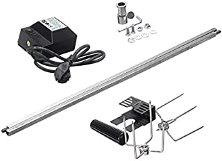 Sticks - Electric BBQ Grill Rotisserie Barbecue Motor Spit Roaster Rod Fork Roast Branch Outdoor Camping BBQ Tools Accesso...
