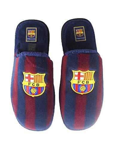 La Valenciana Offiziell lizenzierte Fußballschuhe von FC Barcelona, Rot - rot - Größe: 45 EU