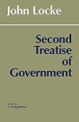 Second Treatise of Government by John Locke Book Cover