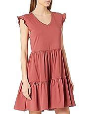ONLY ONLMAY LIFE CAP SLEEVES FRILL DRESS JRS dames jurk