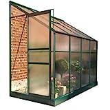 BillyOh Polycarbonate Aluminium Metal Frame Lean-To Greenhouse