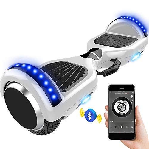 QINGMM Hoverboard, Selbst Balancing Scooter 6.5