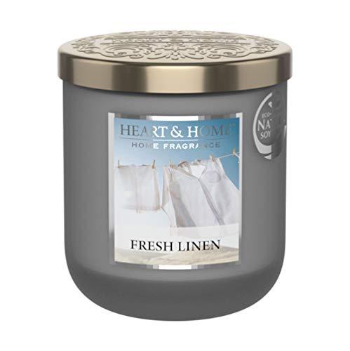 Candela piccola modello 115 g bucato fresco – Heart & Home
