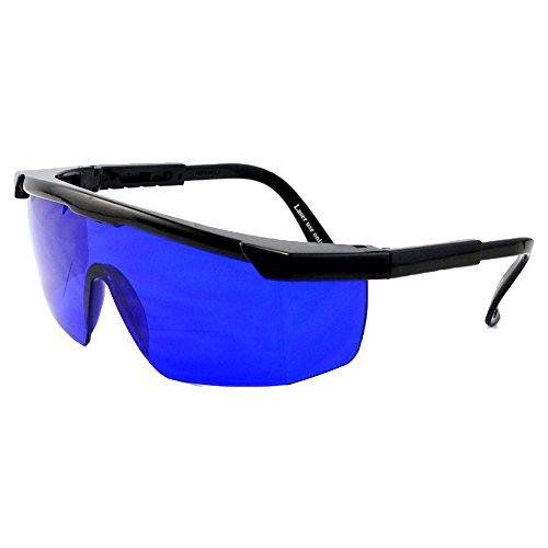 Shuxinmd Golfball-Brillenfinder, spezielle Blaue Linsen für einfaches visuelles Aufnehmen (inklusive Brillenetui und Reinigungstuch)