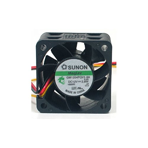 Swellder Sunon GM1204PQV1-8A cooling FAN 40mm x 40mm x 28mm 3Pins 3wires,2.8W 9200RPM