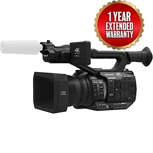 Lowest Prices! Panasonic AG-UX90 4K/HD Professional Camcorder (Extended-Warranty Bundle)