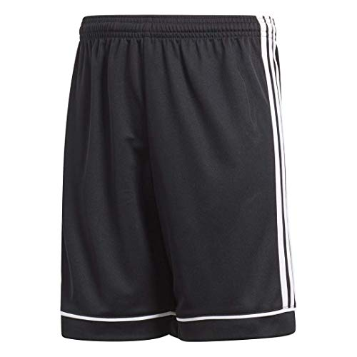 adidas Kids' Squadra 17 Shorts, Black/White, Large
