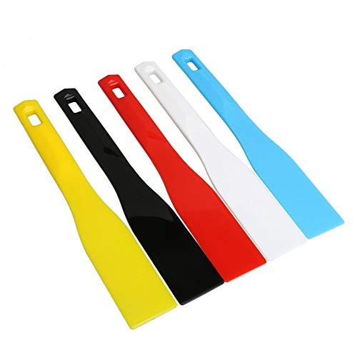 Mxfans, 5 espátulas de plástico para impresión de serigrafía, 45 mm de ancho