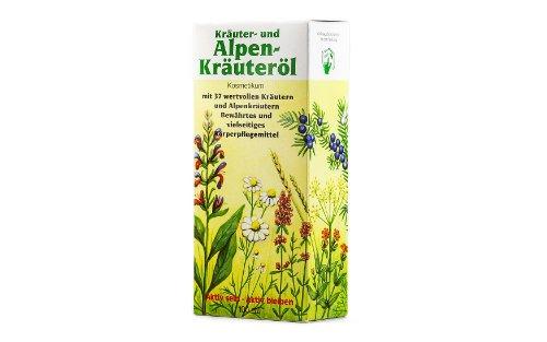 Saunabedarf Schneider - Körper-Öl, Kräuter- und Alpenkräuter-Öl 37, aus natürlichen reinen Ölen für Körper, 100ml