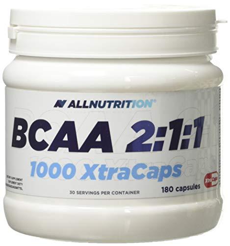Allnutrition BCAA 2:1:1 1000 Xtra Caps, 180 caps, 1 kg