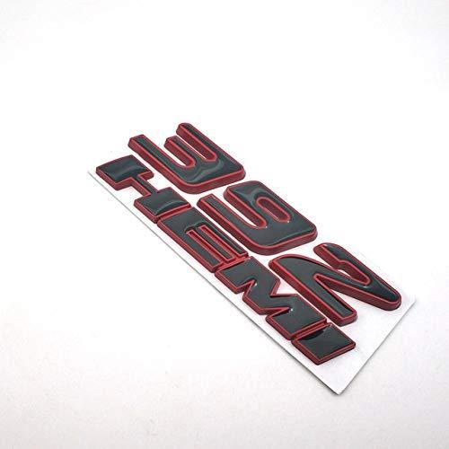 3D-Auto-Metall-Aufkleber, Form 392 HEMI-Flagge, Abzeichen für Kotflügel, Seitentüren, automatisch Flaggen-Aufkleber (Farbe: C)