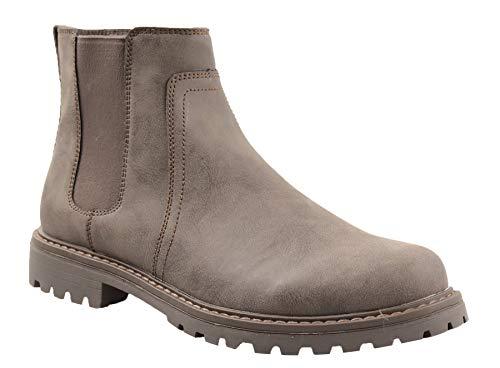 Amazon Essentials Men's Ankle Boot, Brown, 12 Medium US