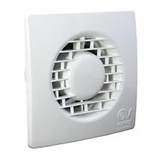 'Vortice 11135 MF 100/4 T LL Purificateur d'air, 15 W, 240 V, boîtier blanc, Ø : 15,9 cm, roue diamètre : 9,8 cm