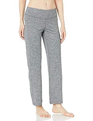 C9 Champion Women's Curvy Fit Yoga Pant, Ebony Heather - Short Length, M