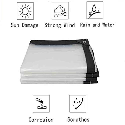 XYXH Transparente Toldo De Múltiples Funciones, Duradera, Fácil De Plegar, para Construcción Muebles, Jardín, Piscina Suelo Camping