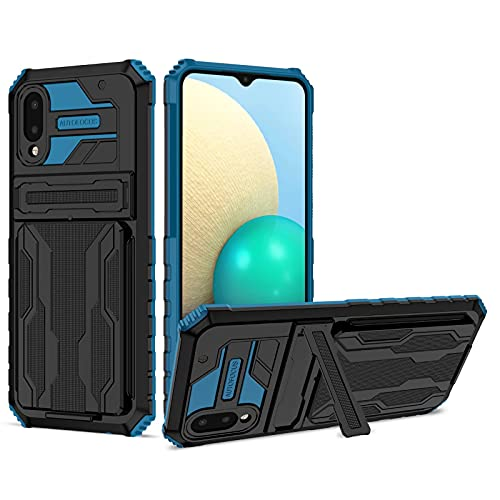 xinyunew Hülle Phone Wallet Kompatibel mit Vivo Y20s / Y11s / Y20,Stoßfest Outdoor Handy Hülle Militärstandard Hülle 360 Grad Schutzhülle Schutz Stürzen Handyhülle für Vivo Y20s / Y11s / Y20,Blau