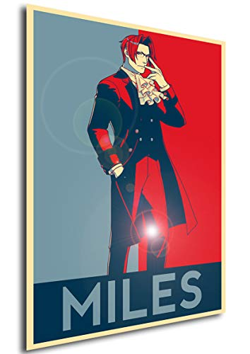 Instabuy Poster - Propaganda - Ace Attorney - Miles Edgeworth A3 42x30